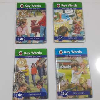 Storybooks on key words