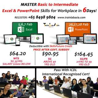 IT course - SG/PR only