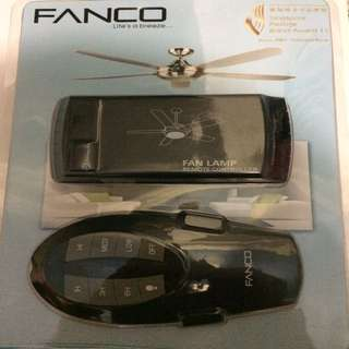 Fanco ceiling fan remote ( 1 year warranty )
