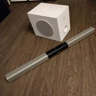Philips soundbar and wireless subwoofer