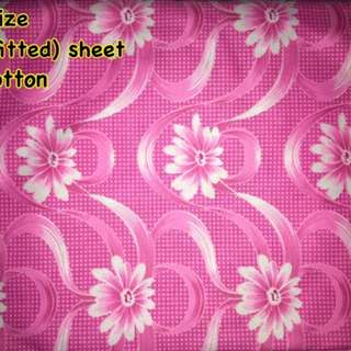 King size bed fitted sheet polycotton