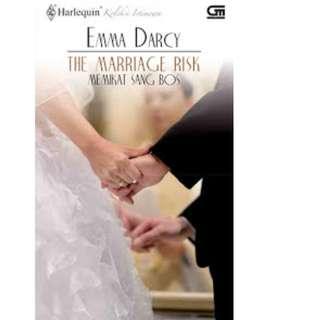 Ebook Memikat Sang Bos (The Marriage Risk) - Emma Darcy