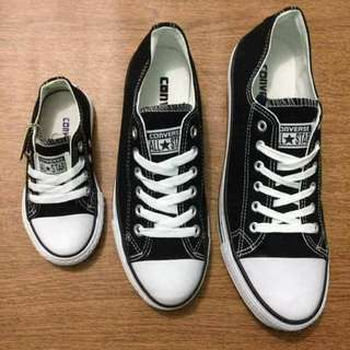 Converse Family Set Low Cut with box 2 ♥