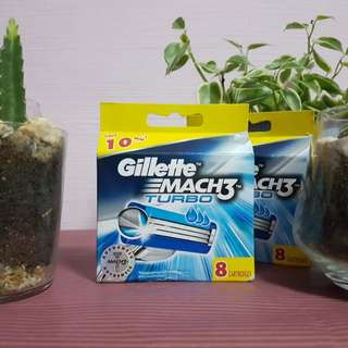 (Instock) Gillette mach3 turbo