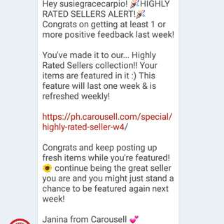 😙😙Thank you!! Highly Rated Seller 💖