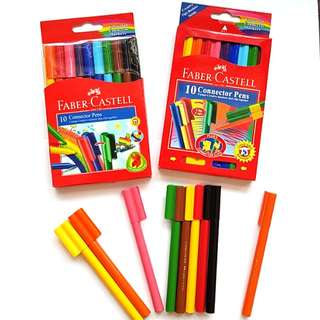 Faber Castell connector markers/art materials/color pen