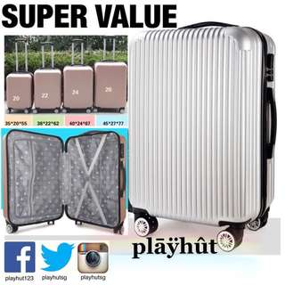 Hard Case Luggage with 4 wheels