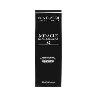 { BNIB} Platinum Miracle Skin Pore Tightening Pack