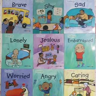 BN Feelings Series by Sarah Medina 12 books + 12 cds