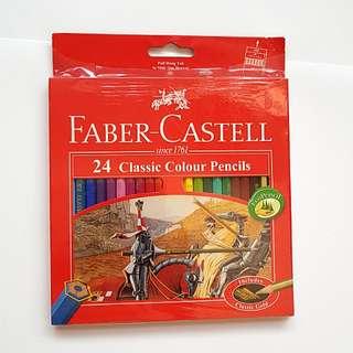 Faber Castell 24 classic colour pencil