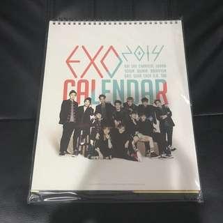 EXO Season Greeting Calendar 2014