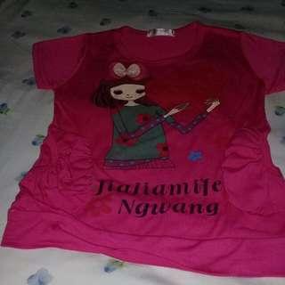 Baju anak perempuan 5-8 thn