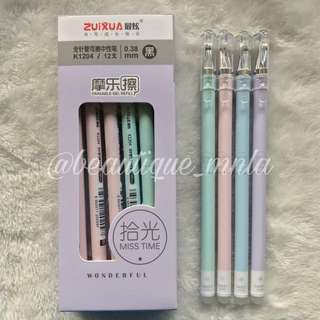 12 pcs. BESTSELLING zuixua Friction pens