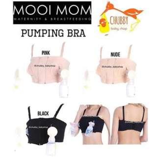 Mooimom hands free pumping Bra Black size M