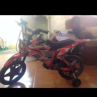 Motocross style bike