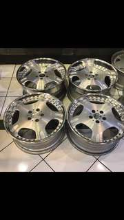 Velg Brabus, Leonhardritt, MAE Riverside, Stich D mint condition..