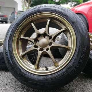 Ce28 thailand rim baru tyr 2nd 70% 15 inch sports rim iriz