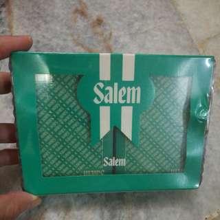 Salem limited edition poker cards