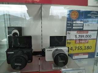 Canon EOS M10 Bisa Dikredit Dp0% Proses Cepat