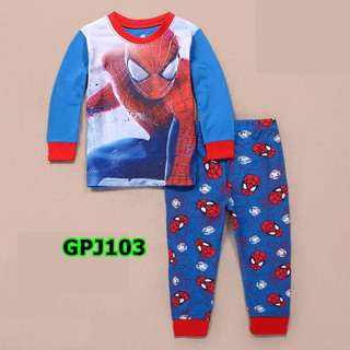 Spiderman pyjamas set