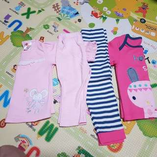 NEW - 2sets of long sleeve/pants include n.postage