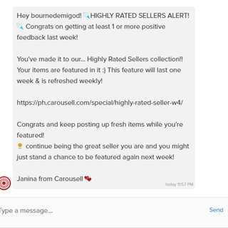 1st HIGHLY RATED SELLERS ALERT!