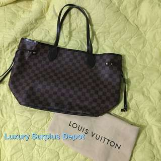 Louis Vuitton Damier Ebene Neverful MM