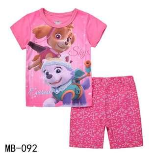 Skye pink tshirt set