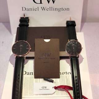 DW CLASSIC BLACK SHEFFIELD (40/36mm)