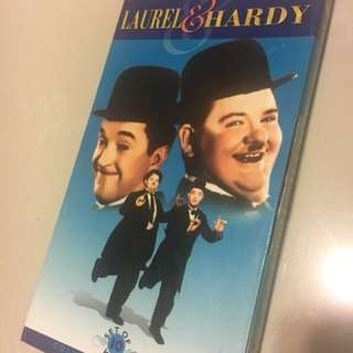 Laurel and Hardy 10 volume VCD set