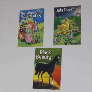Wizard of Oz, Ugly Duckling & Black Beauty