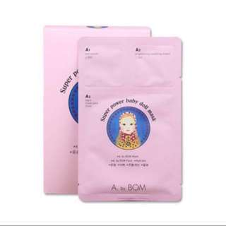 (#SpringClean60) A by BOM Super Power Baby Doll Mask 10 Pieces