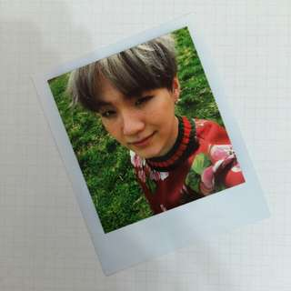 WTS BTS Young Forever Suga PC