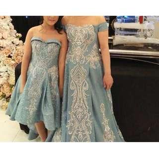 Mini dress and longdress (mini dress 1jt, longdress 1,5jt)