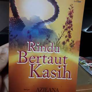 Malay Novel - Rindu Bertaut kasih