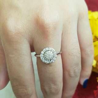 cincin silver mirip mas aslinya banget lhoo