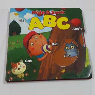 Interactive Book on ABC  for Toddlers