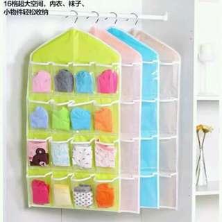 16 grid storage bag/organizer