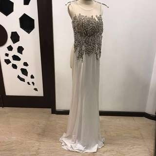 Wedding/Evening Gown (M)  - reduced price