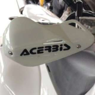 White Acerbis Handguards