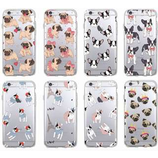 [FREE DELIVERY] (iPhone & Samsung) Dog phone cases