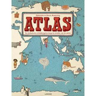 Atlas by Daniel Mizielinski and Aleksandra Mizielinska (in Dutch)
