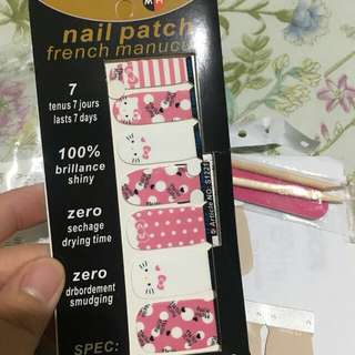NAIL STICKER HELLO KITTY