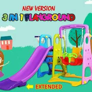 3 IN 1 PLAYGROUND- NEW VERSION