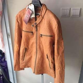 ❄️全新 100%正品 CHEVIGNON 品牌 大熱 Rider 款 修身羊皮皮褸 男裝❄️