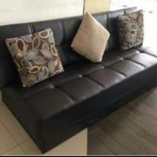 Di jual cepat sofa bed kimura minimalis