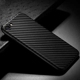 Carbon Fiber Texure Soft Case casing silikon Iphone 6 6s 7 8 plus SCA