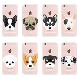 [FREE DELIVERY} (iPhone & Samsung) Dog phone cases