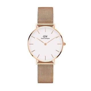 DW Watch玫瑰金錶