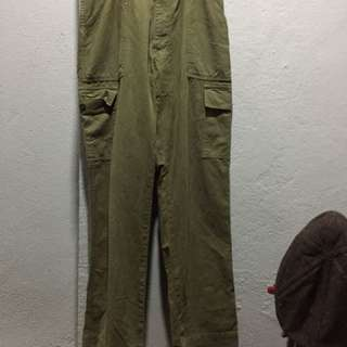 VTG SCHOTT MILITARY PANTS SIZE 30
